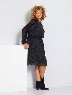 Легкое платье с оборками