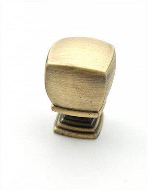 Ручка кноб 20х20мм старая бронза FW1638 .