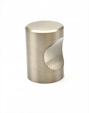 Ручка кноб д.18мм никель (материал: алюминий) 1309К .