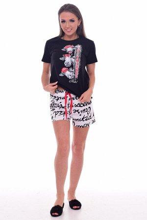 Пижама женская 1-200 (черный)