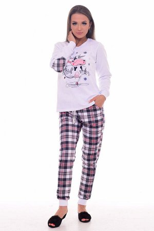 Пижама женская 1-198а (белый)