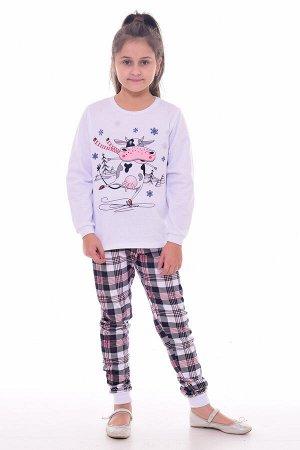 Пижама детская 7-277а (белый)