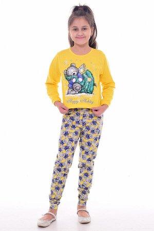 Пижама детская 7-274а (лимон)