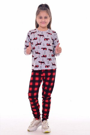 Пижама детская 7-270 (красный)