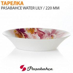 Тарелка Pasabahce Water Lily / 220 мм