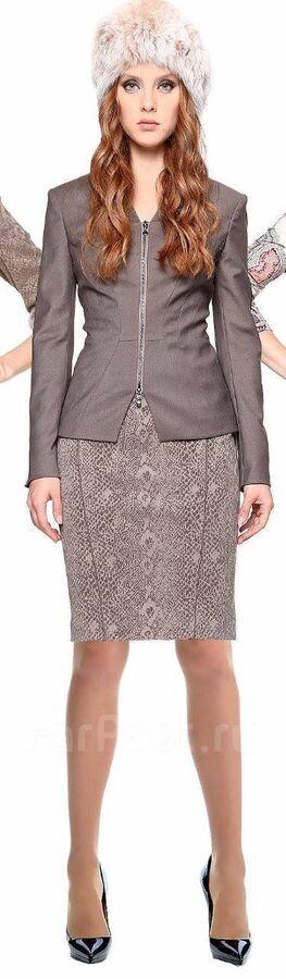 Теплая шерстяная юбка M.Reason на 48 размер