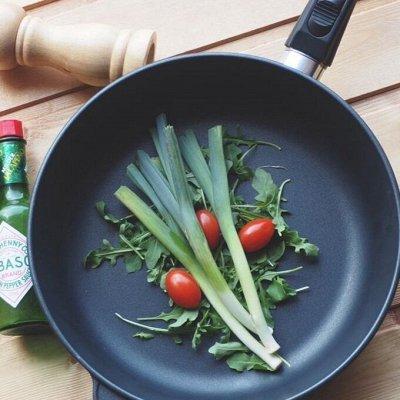 """Heва Meталл — пocуда для вашей кухни — Бюджетная линия """"Neva Black"""" — Классические сковороды"""
