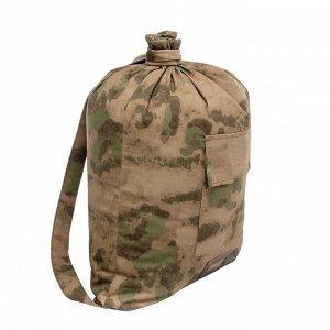 Мешок вещевой солдатский (палаточная ткань) HS-РК-7 мох