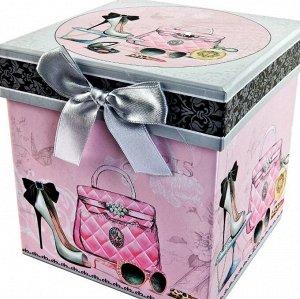 Коробка подарочная, малая - Принт для женщин