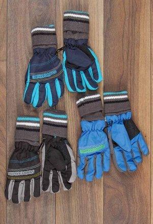 Перчатки для мальчиков 942, плащёвка
