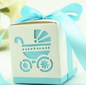 Коробка подарочная, большая - Принт на рождение малыша