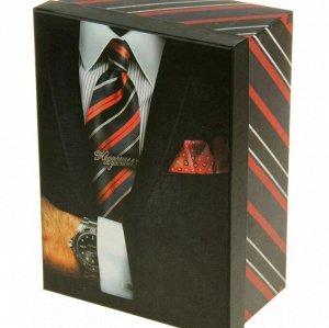 Коробка подарочная, большая - Принт для мужчин