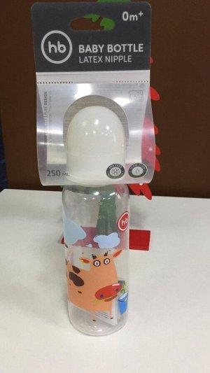 Бутылочка Happy Baby с латексной соской, 250 мл.