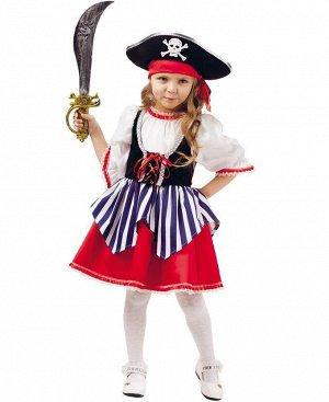 """Карнавальный костюм """"Пиратка Сейди"""" 2005 к-18 р.128-64"""
