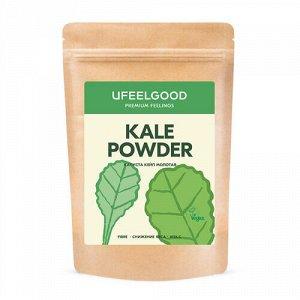 Органическая молотая капуста кейл / Organic Kale Powder Ufeelgood