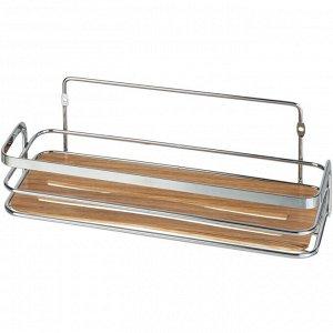 """FORA"" Полка для ванной ""Wood"" 26х11,5х9см FOR-WOD01"
