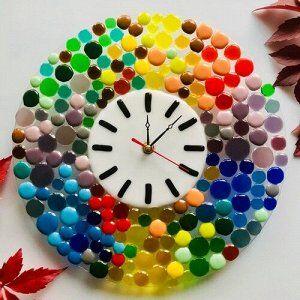 Настенные часы «Радужные»