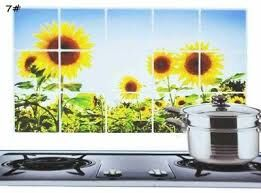 Термостойкая наклейка для кухни 90*60