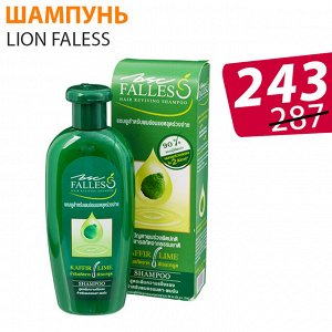 """LION """"FALESS"""" Шампунь против выпадения 180мл для сухих и повр.волос/ без коробки"""