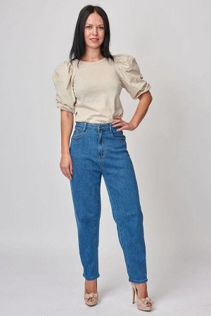 Синие джинсы МОМ арт. AB921-CM860-1 р.28