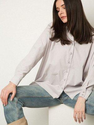 Однотонная рубашка из вельвета B2558/delicacy