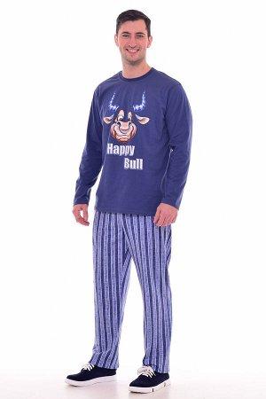 Пижама мужская 9-148 (синий)