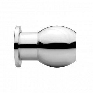 Металлический анальный стимулятор Large Abyss 1.9 Inch Hollow Anal Dilator (большой)