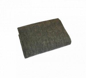 Одеяло полушерстяное 100*140см. Плотность 500 г/м2 (Темно-серый)