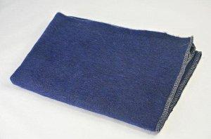 Одеяло полушерстяное 100*140см. Плотность 500 г/м2 (Джинс)