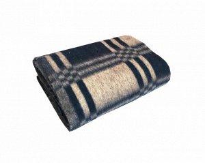Одеяло п/ш 100*140см. Плотность 400 г/м2 (Уют, темно-синий)