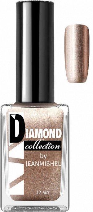 DIAMOND Лак для ногтей 537 Кофе с молоком перламутровый 12мл / 24шт/