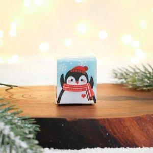 Набор резинок - пружинок «Милый пингвинчик», 3,5 х 6,5 х 4,5 см