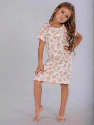 Сорочка детская ML-Балерина нд-8(кулирка)