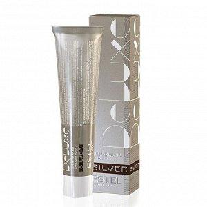 Краска для волос Estel De Luxe Silver 60 мл 7/37 Русый золотисто-коричневый