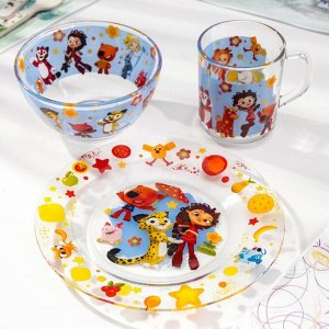 Набор посуды детский Priority «Мульт», 3 предмета