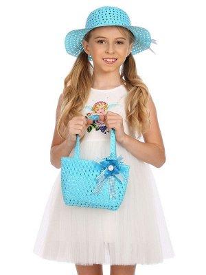 Комплект Шляпа детская + сумка