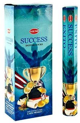Благовония HEM Hexa SUCCESS УСПЕХ