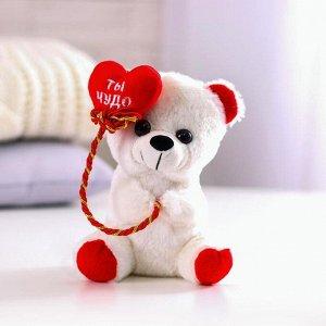 Мягкая игрушка «Ты чудо», мишка