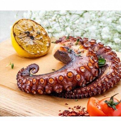 🌷Акции!Гребешок по-шанхайски!Сыр Ламбер!Рыбка малосоленая!  — Осьминог копчёный (щупальца) — Закуски из морепродуктов
