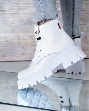 Ботинки Милитари 12 белый