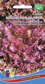 Салат Вишневая Дымка (УД) (среднеспелый, листовой, красноватый, отличный вкус)