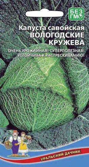 Капуста савойская Вологодские Кружева (УД) Новинка!!!