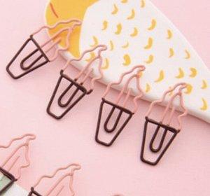 Скрепка мороженое