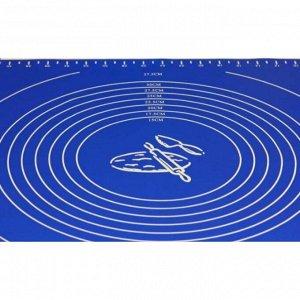 Силиконовый коврик с разметкой 69 см х 49 см