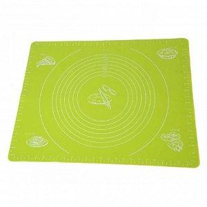 Силиконовый коврик с разметкой 70 х 70 см для выпечки