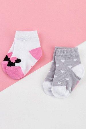 Носки для девочки 2 пары