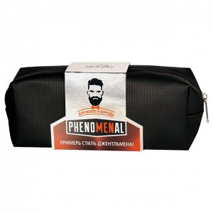 Подарочный набор ГОТ ТУ БИ phenomenal шампунь д/волос  бороды + phenomenal крем д/волос и бороды + Косметичка