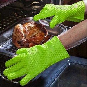 Прихватка-перчатка силиконовая