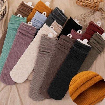 🌸 Комфортное белье в японском стиле. Полюбившаяся закупка! — Классные носочки натуральных цветов — Носки