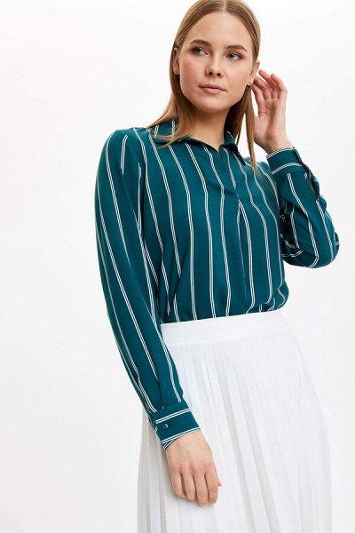 DEFACTO -рубашки, футболки, поло, брюки, платья — Сорочки, футболки — Большие размеры